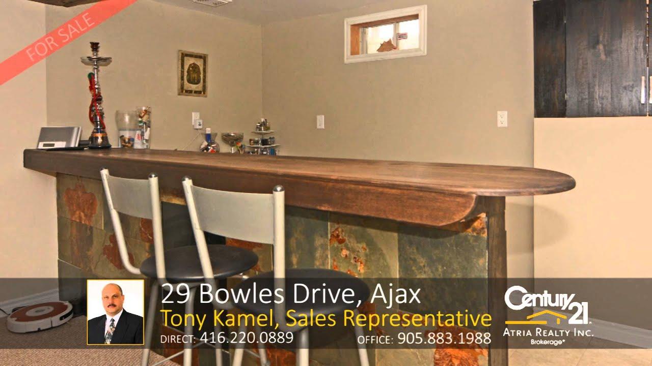 29 bowles drive ajax home for sale by tony kamel sales 29 bowles drive ajax home for sale by tony kamel sales representative