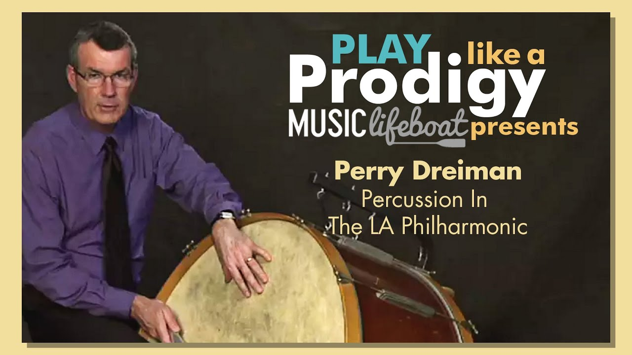 Learn Drums And Percussion From A Master: Lesson 1 Your Drum With Perry Dreiman