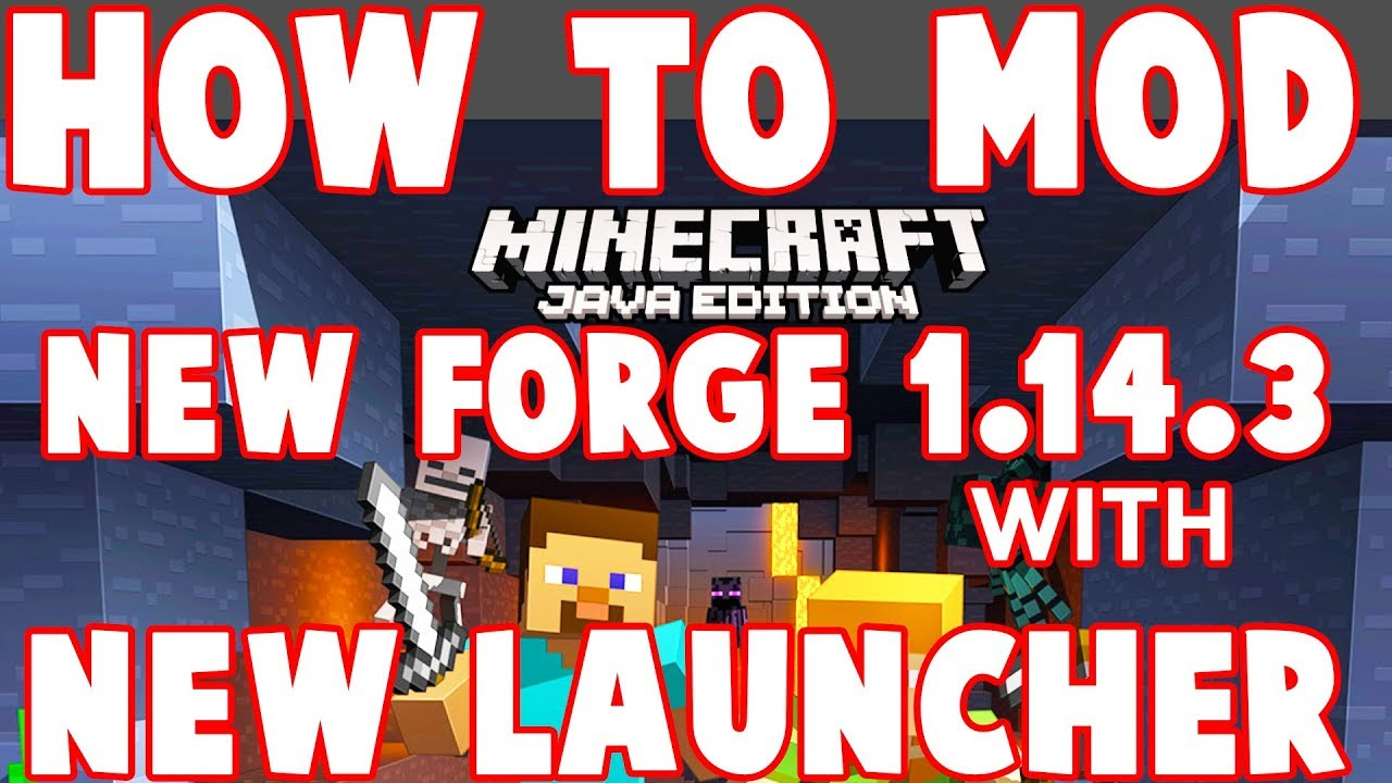 How to Install Minecraft 1 14 3 Mods with NEW launcher on Windows and Mac :  2019