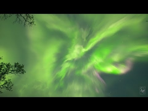 GEOMAGNETIC STORM - Sept. 10-11th 2018 - REAL-TIME HD