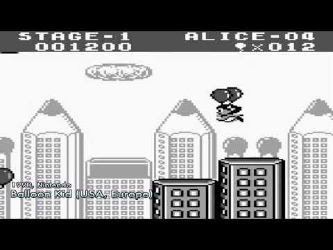 All Nintendo Game Boy Games List Full Screen