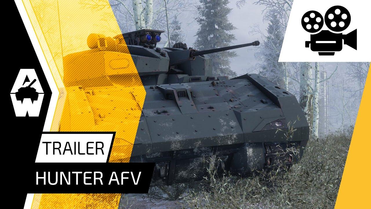 Armored Warfare - Hunter AFV Trailer (Reupload)