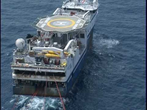 Oil Industry Video by HardHat Media & Communications offshore West Africa: Bonga 4D Seismic Project