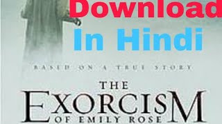 How To Download The Exorcism of Emily Rose in Hindi