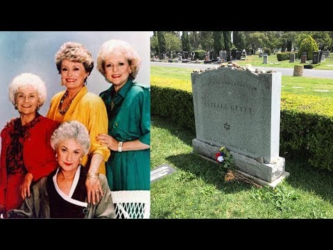 FAMOUS GRAVE  Visiting Golden Girl Estelle Getty's Grave In Hollywood, CA  RIP