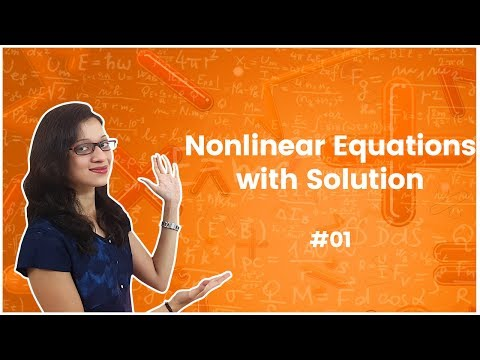 Numerical Methods – Solution of Non-linear Equations - Introduction. GATE – Engineering Mathematics