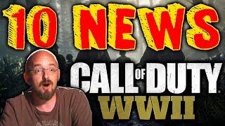 10 NOUVELLES INFOS SUR CoD WW2 ! (BO2 Gameplay)