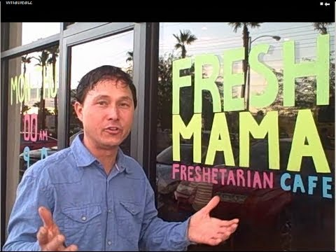 Best Raw Food in Las Vegas at Fresh Mama Freshetarian Restaurant Review