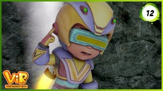 Vir: The Robot Boy | Volcano | Action Show for Kids | 3D cartoons