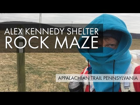Alex Kennedy Shelter – Rock Maze – Boiling Springs Parking – Appalachian Trail Pennsylvania