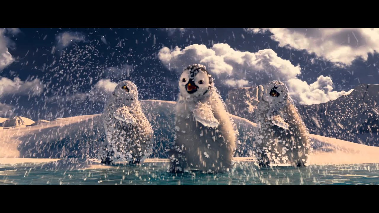 Happy Feet 2 O Pinguim Trailer Teaser Dublado Hd Youtube