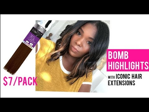 BOMB Highlights With Iconic Hair Extensions