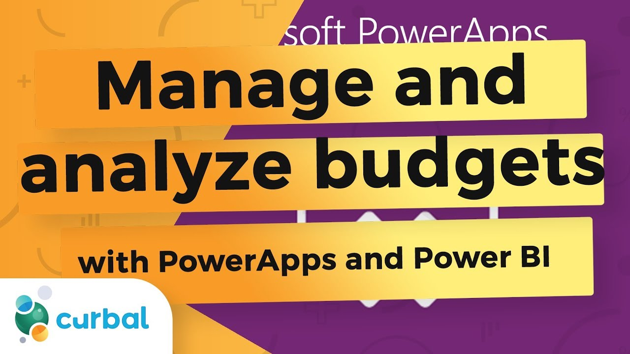 Create an excel based budget app with PowerApps and use it in Power BI