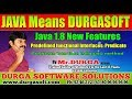 Java 1.8 New Features  ||  Predicate interface isEqual method () || by Durga