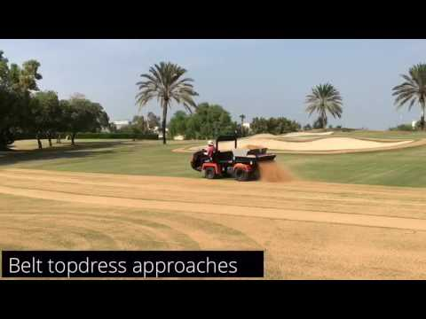 Overseeding at Emirates Golf Club Part 3, 1st November 2016