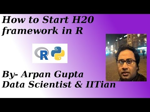 How to Start H2o framework in R