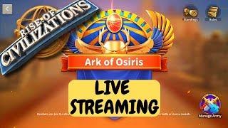 Ark of Osiris - Live Streaming - Legend Rhony Commenting - Rise of Civilizations