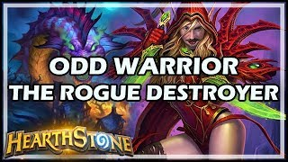 ODD WARRIOR, THE ROGUE DESTROYER - Boomsday / Constructed / Hearthstone