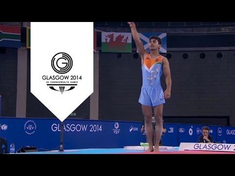 Bad landing for Indian Gymnast Ashish Kumar | Unmissable Moment