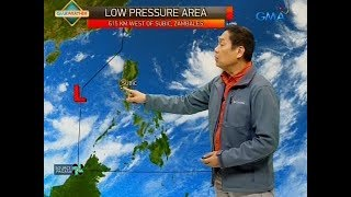 UB: Weather update as of 6:00 a.m. (Aug. 6, 2018)