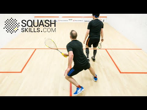 Squash tips: Timing your movement in squash