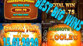 BEST online casino winnings for 15.01.2020 | BOOK OF SUN big win