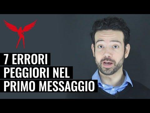 I 7 Errori Peggiori Quando Mandi il Primo Messaggio su Siti di Incontri, App e Chat Online from YouTube · Duration:  6 minutes 40 seconds