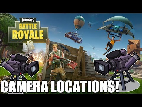 Dance In Front Of Different Film Cameras! FORTNITE CAMERA LOCATIONS!