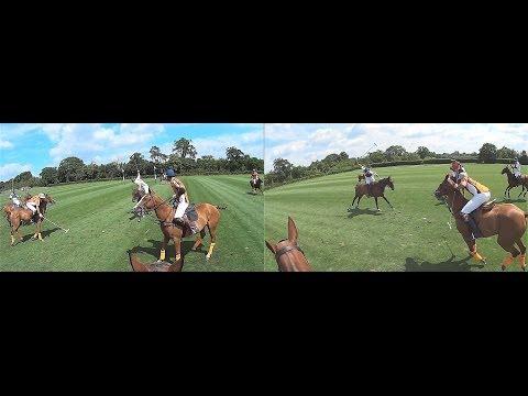 Dual Headcam 8 Goal Polo at Emsworth