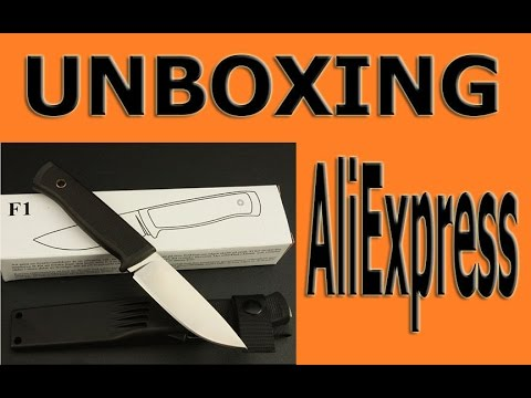 UNBOXING:AliExpress.Fallkniven F1 Knife Clone.
