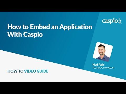 How to Embed a Caspio Application into a Website