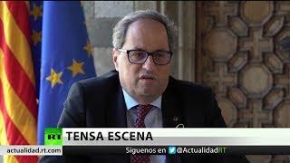 Tensa situación entre Quim Torra y el embajador español de EE.UU.