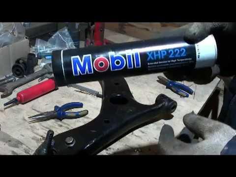 видео: замена сайлентблоков на передних рычагах lifan x60