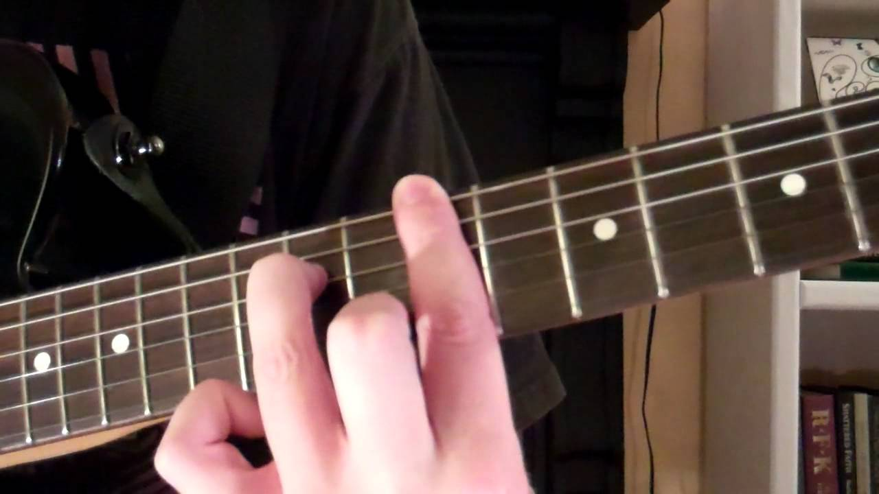How To Play The A6 Chord On Guitar Youtube