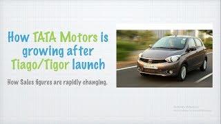 TATA Tiago / Tigor a new ERA for TATA Motors | Sales figures changing RAPIDLY.