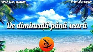 Sonny Flame feat. Connect-R - Print si cersetor [Lyrics]