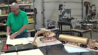 Video #5 Wooden Toy Replicas (high Hoe)