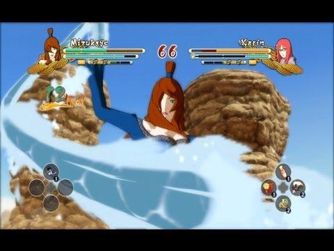 (PS3) Mizukage Mei Terumi vs Karin Naruto Ultimate Ninja Storm 3