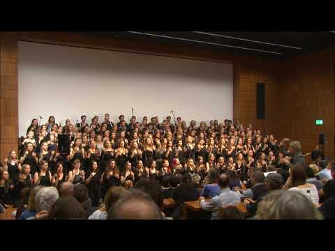 Fleet Foxes - White Winter Hymnal (Zurich University of Teacher Education Choir)
