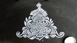 VECTOR DESIGNS/BORDER VECTOR /RANGOLI DESIGNS/LINE ART /UNIQUE/KOLAM/RANGOLI/VECTOR ART DESIGN