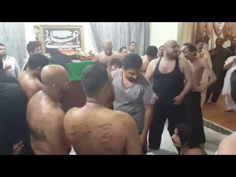 Sangat Shabab-e-Hadriya 28 Rajab at Jabriya Kuwait 2015