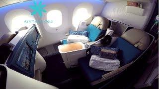 Air Tahiti Nui BUSINESS CLASS Los Angeles to Paris|Boeing 787-9