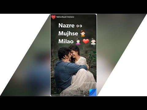 New Love Whatsapp Status ~ Full Screen Whatsapp Status Video ~  Romantic Love Status ~ Love Ringtone