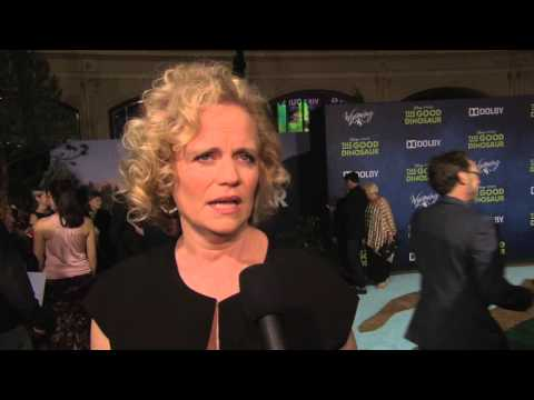 The Good Dinosaur: Screenwriter Meg LeFauve Hollywood Red Carpet Premiere Interview