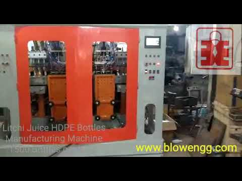 High Productivity Automatic Plastic Extrusion Blow Molding Machine