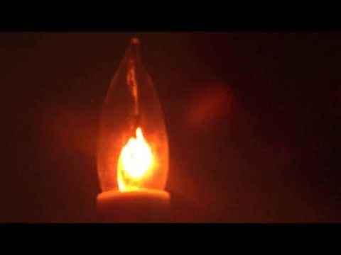 Feit Led 2watt Clear Flame Light Bulb Doovi
