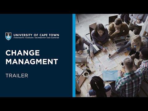 UCT Change Management | Course Trailer