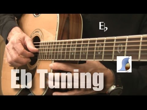 E flat tuning (1/2 step down) for Guitar