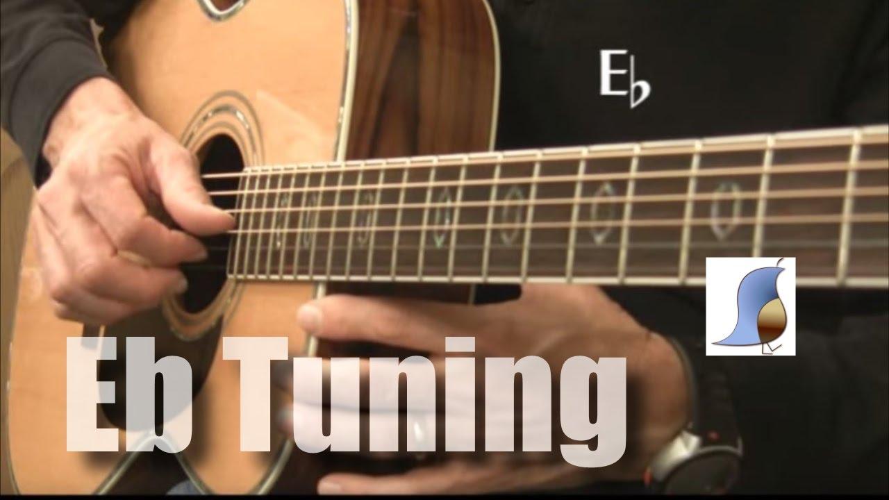 e flat tuning 1 2 step down for guitar youtube. Black Bedroom Furniture Sets. Home Design Ideas