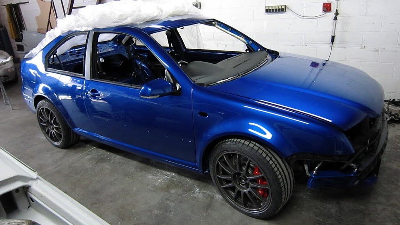 Jetta Coupe 2018 >> VolksWagen Jetta Mk4 Custom Coupe 4Motion R32 Twin Turbo Build Project - YouTube